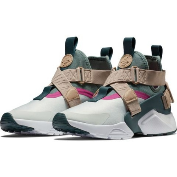 new products 81310 0d3f0 Nike Air Huarache City AH6787-005 Grey Green 8.5